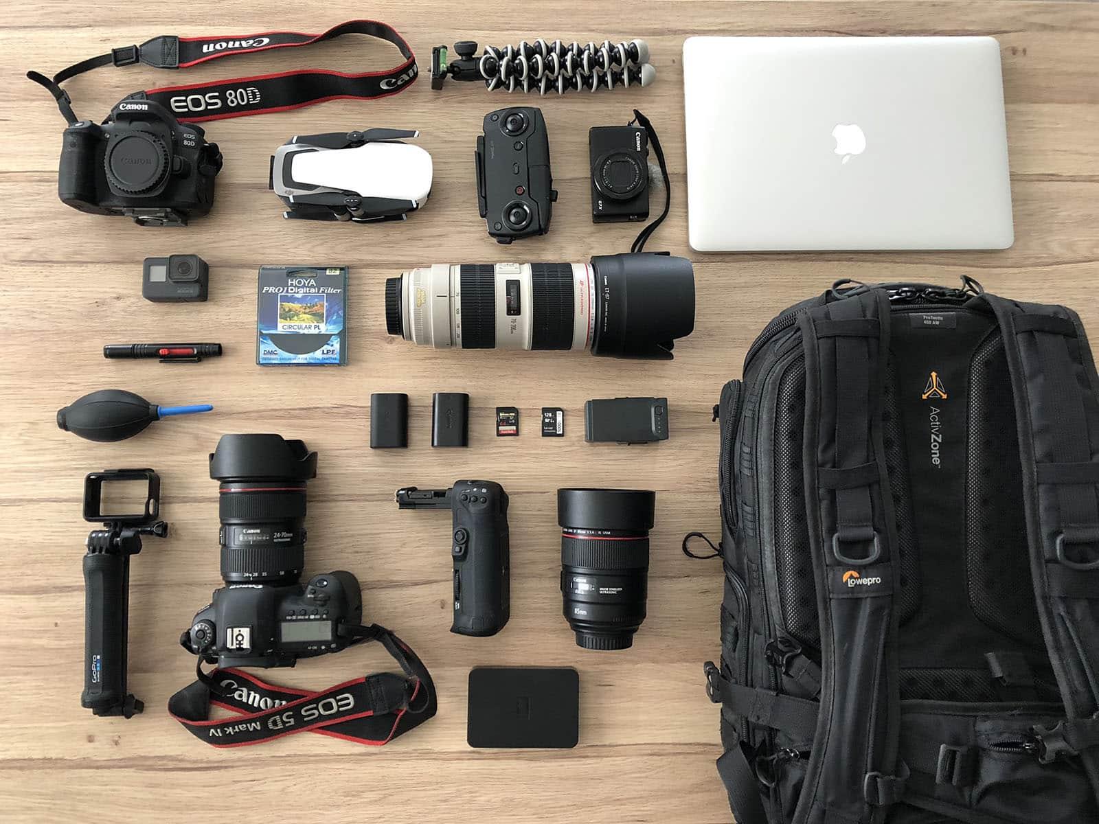 Photo 08 08 2018 11 02 35 - Notre matériel photo et vidéo pour le voyage