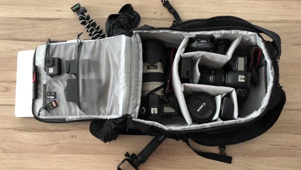 Notre matériel photo et vidéo pour le voyage