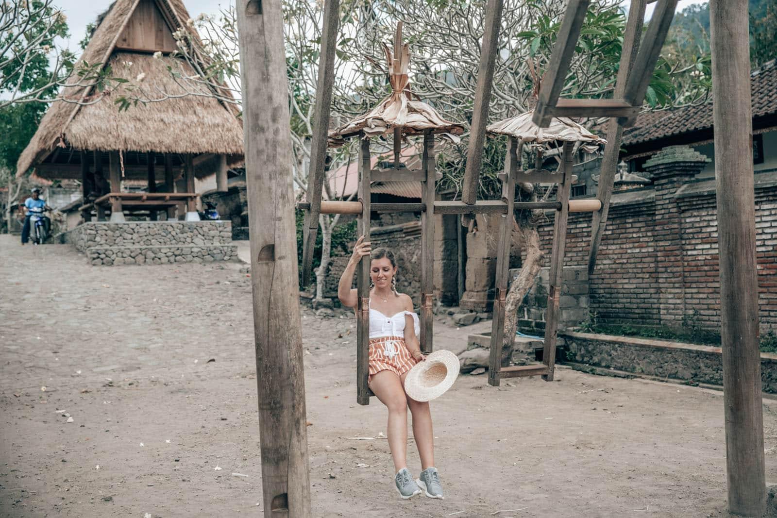 balancoire village - Voyage à Bali : Itinéraire, activités et hôtels