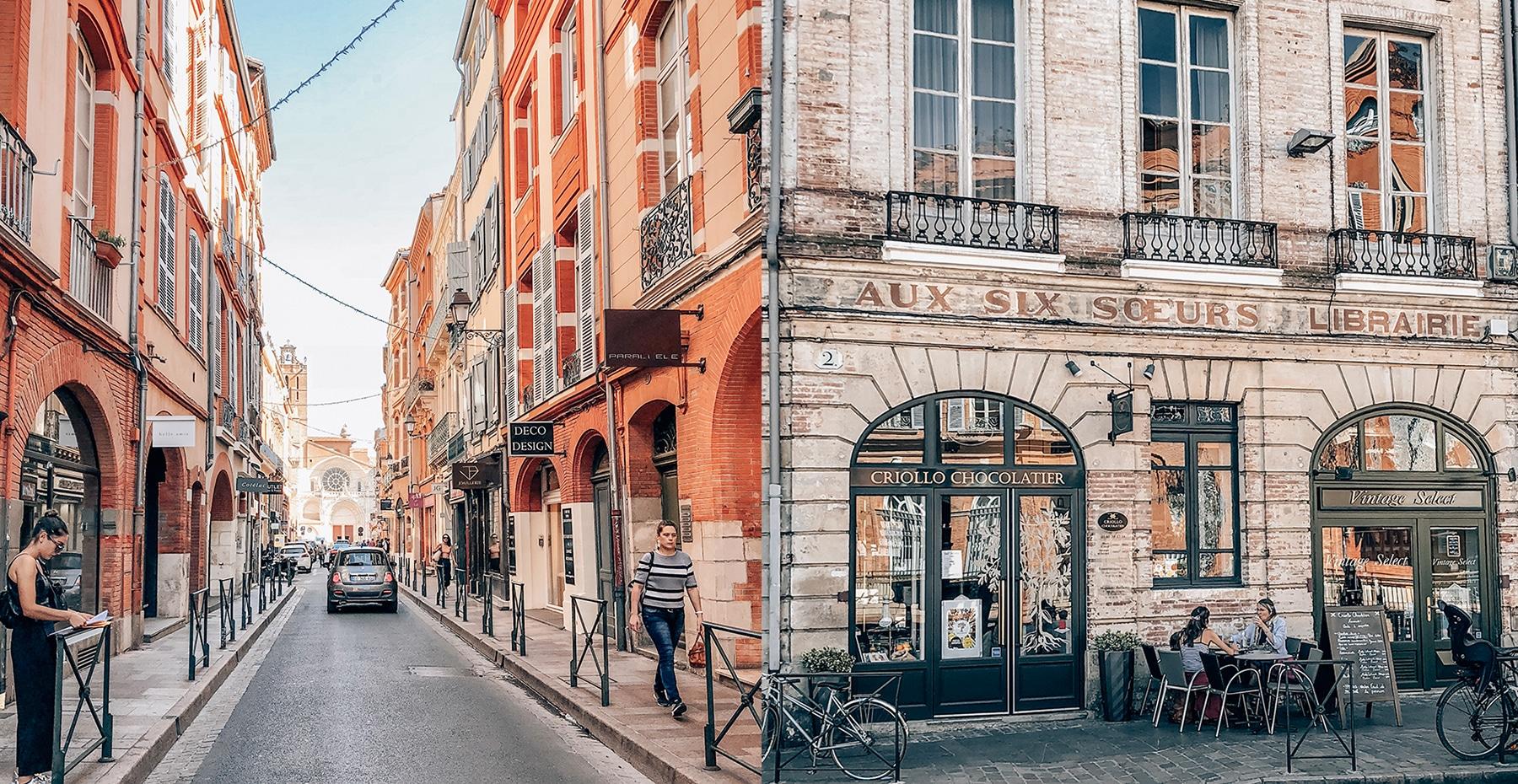 toulouse ville - Un week-end à Toulouse