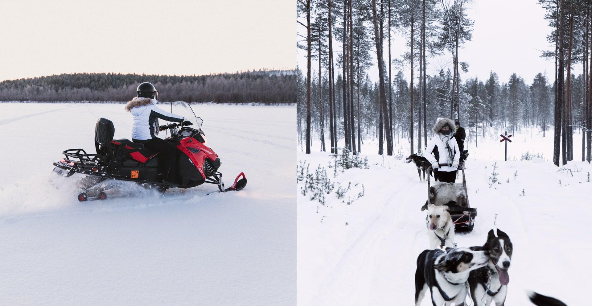 bibi - Récap de notre voyage en Laponie Finlandaise