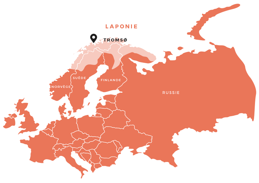maps tromso - Bilan de nos 4 jours en Norvège