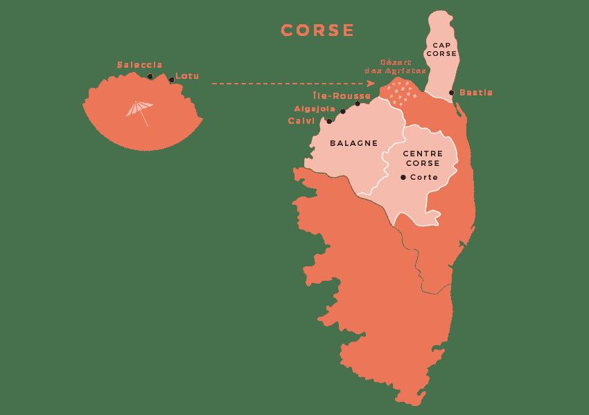 maps corse - Haute-Corse : Mes conseils, choses à voir, adresses...