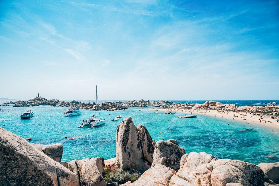 Cala Acciarino Lavezzi Island Corsica France - 10 activités à faire en Corse