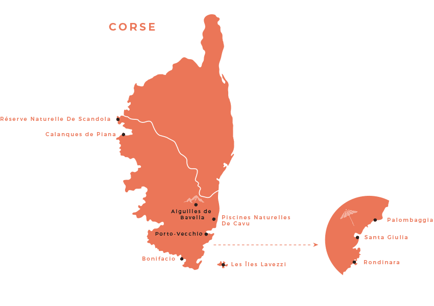 maps corse sud - Corse du sud : Mes conseils, choses à voir, adresses...